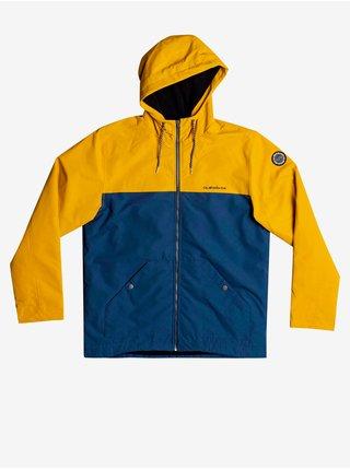 Ľahké bundy pre mužov Quiksilver - žltá, tmavomodrá