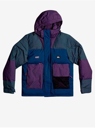 Zimné bundy pre mužov Quiksilver - modrá, fialová