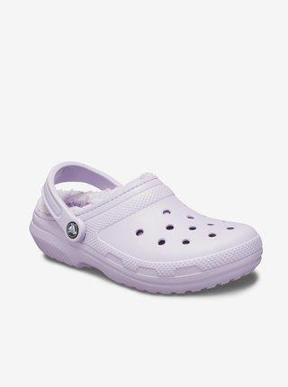 Papuče, žabky pre ženy Crocs - svetlofialová