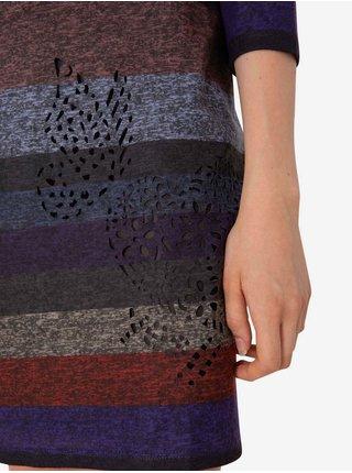 Šaty Woman Knitted Dress Long Sleeve Desigual