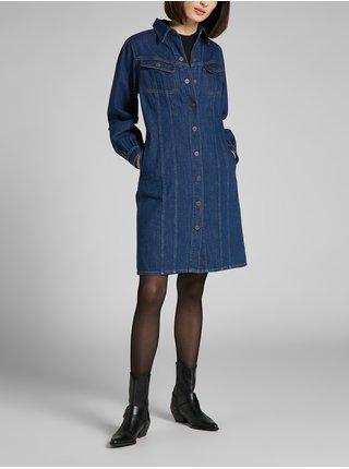 Šaty na denné nosenie pre ženy Lee - modrá
