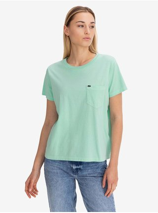 Tričko Garment Dyed Tee Summer Mint Lee
