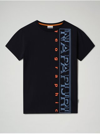 Tričko K Sadyr Logo Blu Marine Napapijri