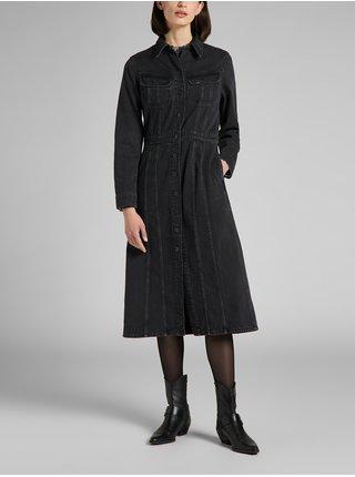 Šaty na denné nosenie pre ženy Lee - čierna