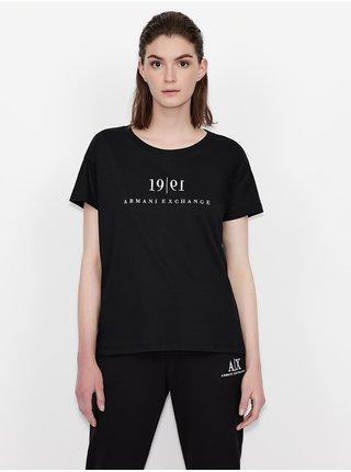 Černé dámské tričko Armani Exchange