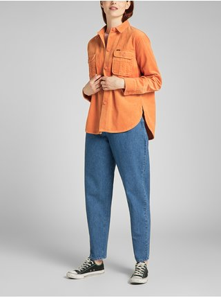 Košele pre ženy Lee - oranžová