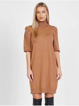 Voľnočasové šaty pre ženy Liu Jo - svetlohnedá