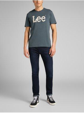 Tričká s krátkym rukávom pre mužov Lee - modrá