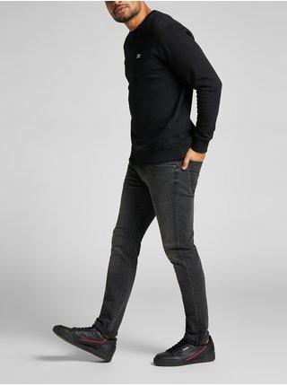 Skinny fit pre mužov Lee - tmavosivá