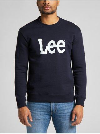 Mikiny bez kapuce pre mužov Lee - tmavomodrá