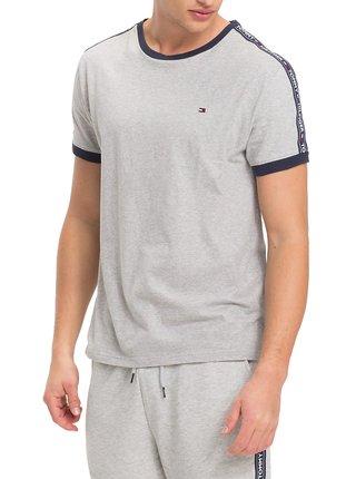 Tommy Hilfiger šedé pánské tričko RN Tee SS
