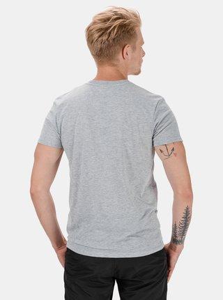 Světle šedé pánské tričko s potiskem SAM 73