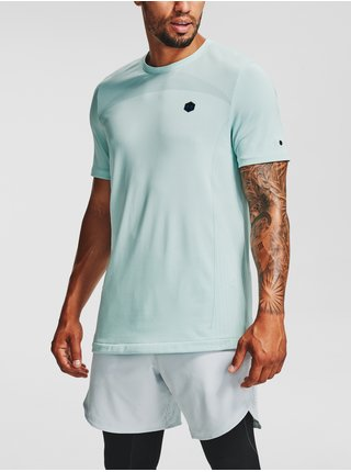 Tričko Under Armour Rush Seamless Fitted SS - tyrkysová