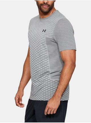 Tričko Under Armour Vanish Seamless SS Novelty - šedá