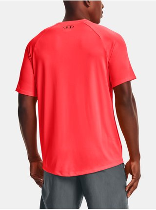 Červené tričko Under Armour UA Tech 2.0 SS Tee