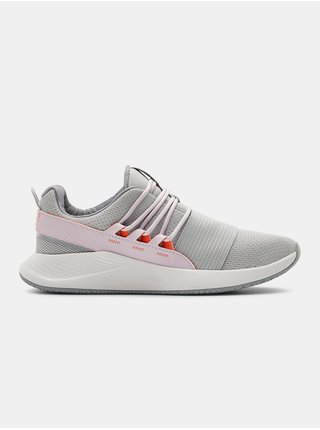 Šedé boty Under Armour W Charged Breathe LACE
