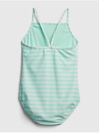 Modré holčičí dětské plavky flip