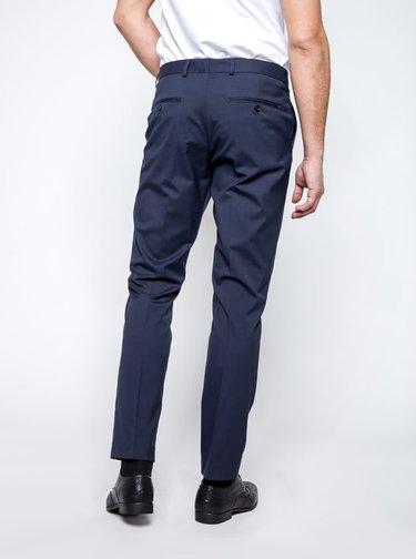 Tmavě modré oblekové kalhoty Selected Homme Newone