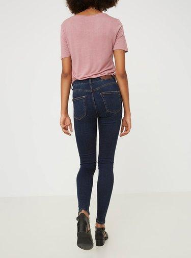 Tmavě modré super slim fit džíny VERO MODA Lux