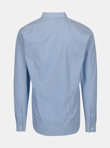 Bielo-modrá pruhovaná slim fit košeľa Casual Friday by Blend