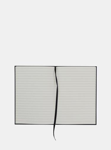 Čierny zápisník Design Letters
