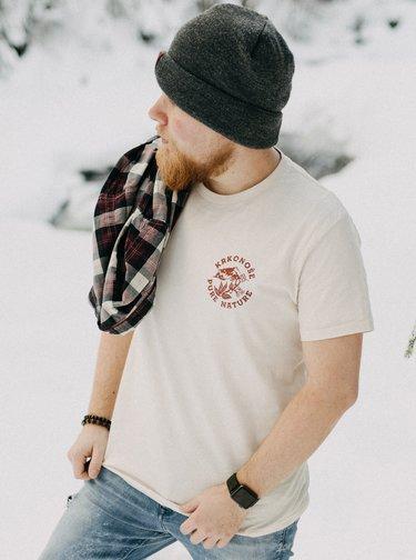 Krémové pánské tričko ZOOT Original Krkonoše