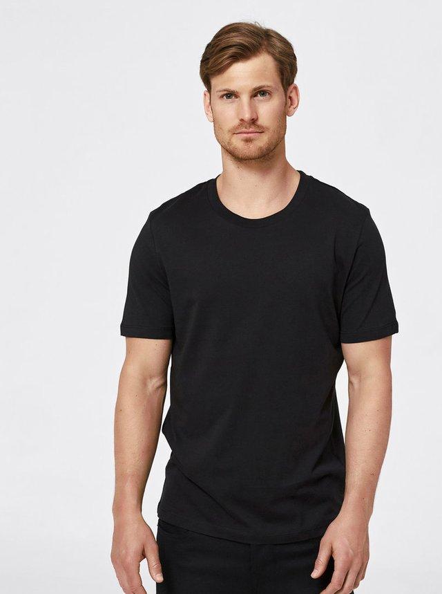 Čierne basic tričko Selected Homme The Perfect