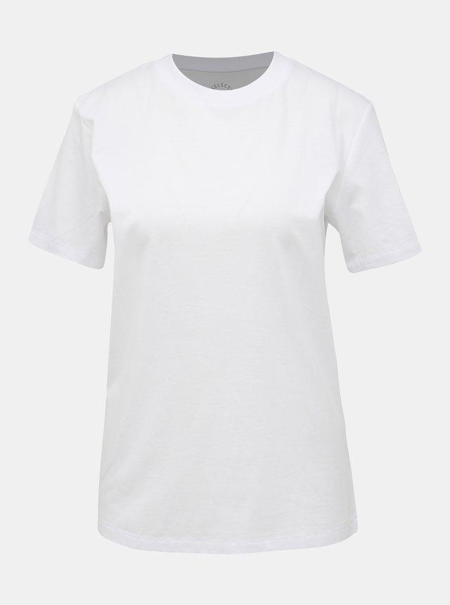 Bílé basic tričko Selected Femme My Perfect