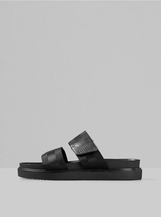 Černé pánské pantofle Vagabond Seth
