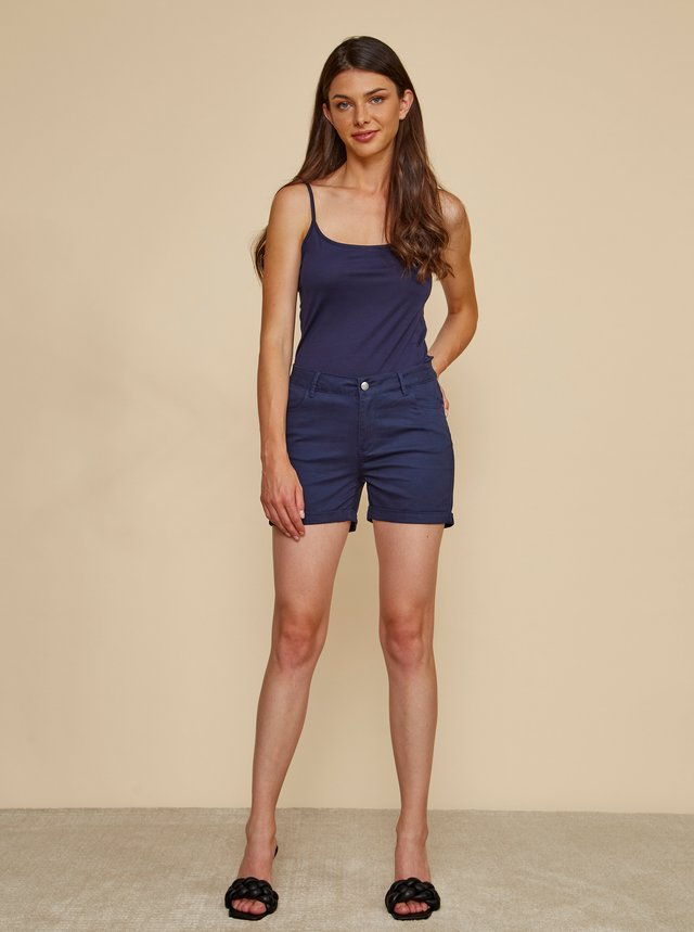 Tmavě modré dámské kraťasy ZOOT Baseline Paige