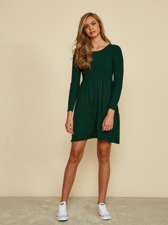 Zelené svetrové šaty ZOOT Baseline Faith