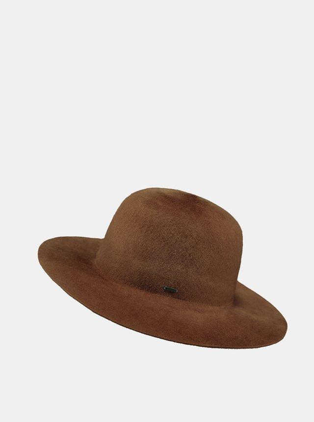 Hnedý dámsky vlnený klobúk Barts