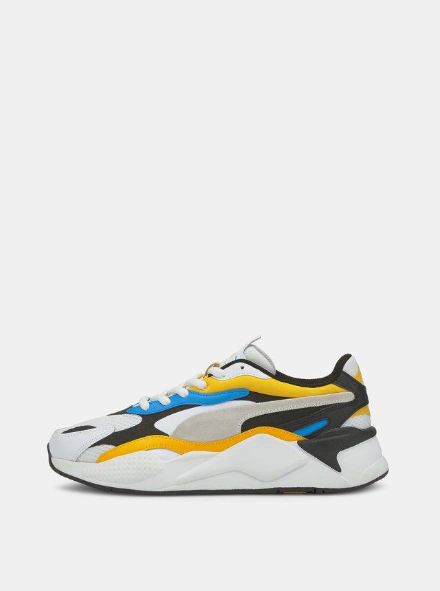 Žluto-bílé unisex tenisky Puma Rs-x3