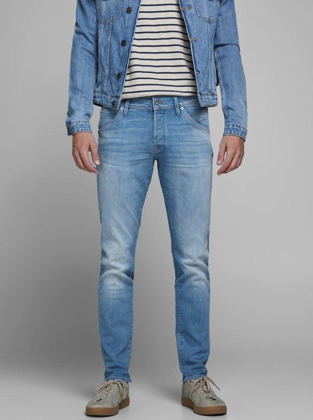 Modré slim fit džíny Jack & Jones