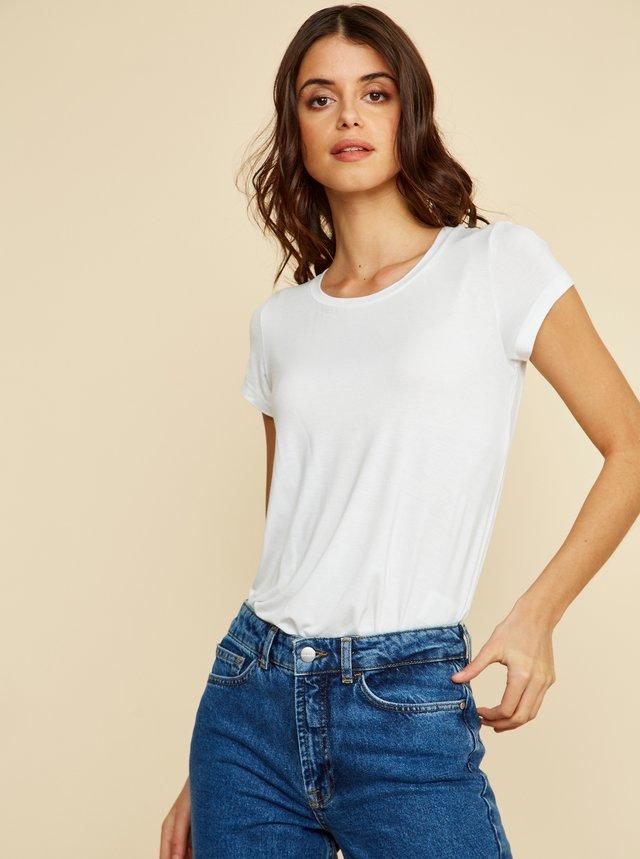 Bílé dámské basic tričko ZOOT Baseline Alva 2