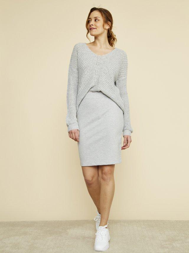 Šedá pouzdrová sukně ZOOT Victoria