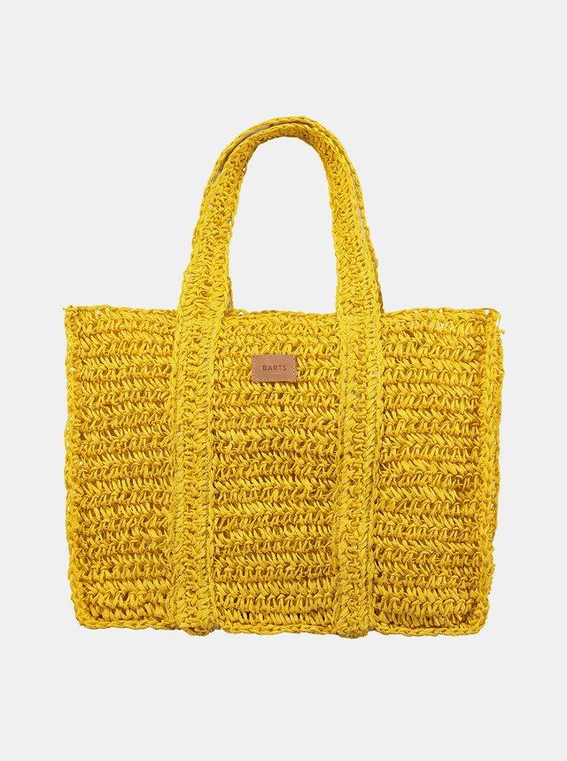 Žlutá dámská plážová slaměná taška BARTS