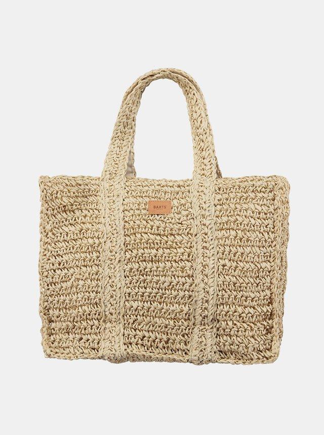 Béžová dámská plážová slaměná taška BARTS