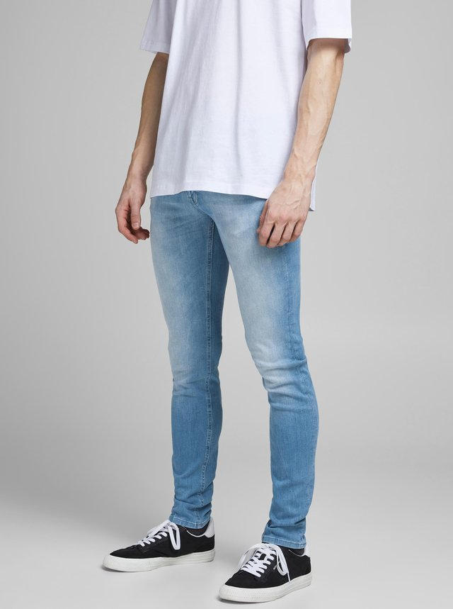 Světle modré skinny fit džíny Jack & Jones Liam