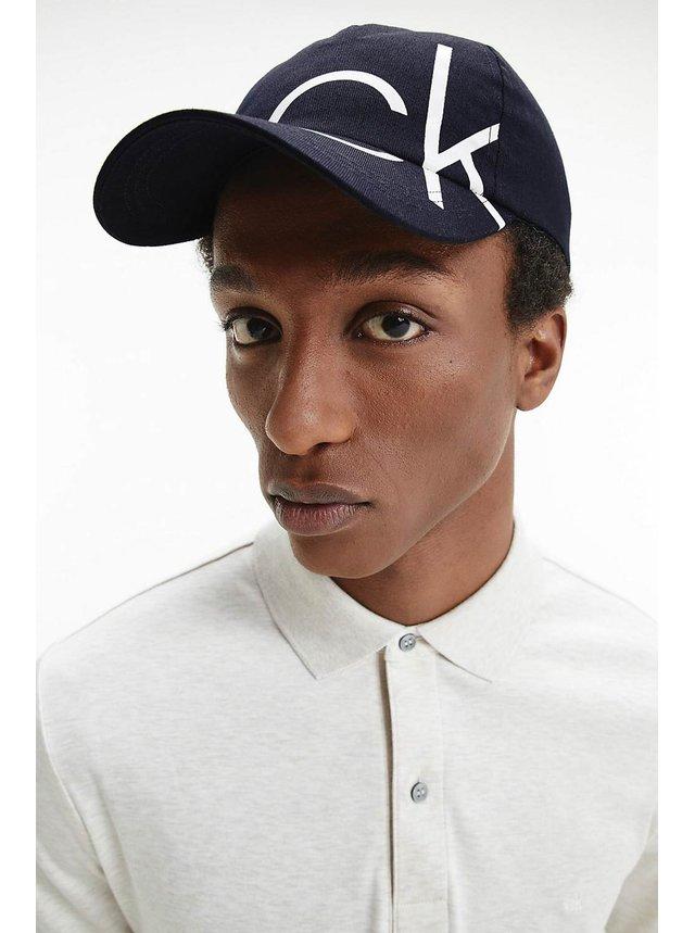 Calvin Klein tmavě modrá pánská kšiltovka BB Cap