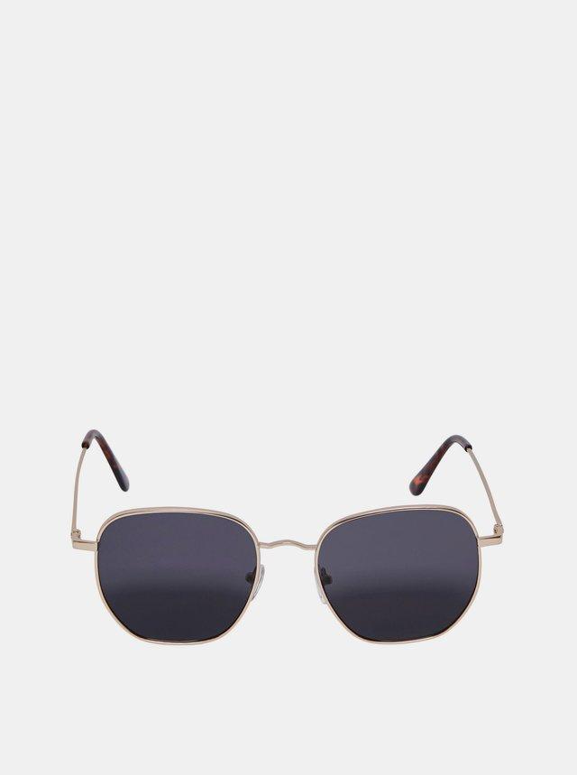 Slnečné okuliare v zlatej farbe ONLY & SONS
