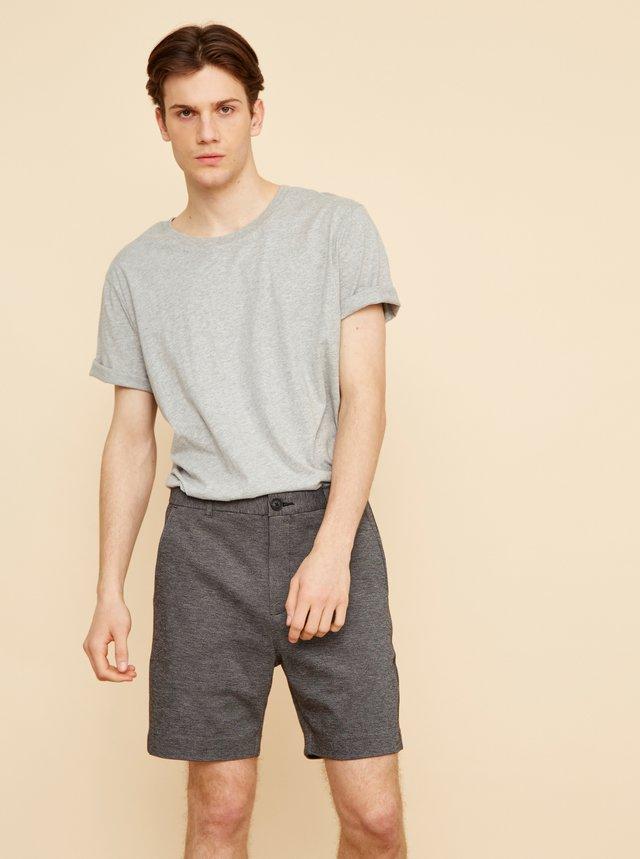 Šedé pánske basic tričko ZOOT David