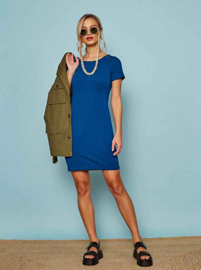 Modré basic šaty ZOOT Baseline Brennda 2