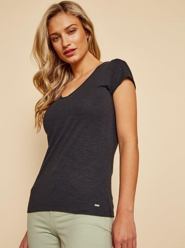 Černé dámské basic tričko ZOOT Baseline Lia