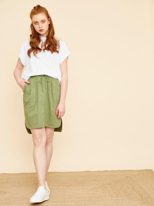 Zelená sukně s kapsami ZOOT Baseline Otelia