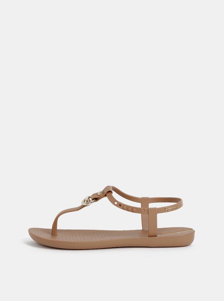 Hnědé sandály Ipanema Lenny Cosmo
