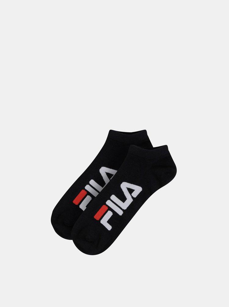 Sada dvou párů černých ponožek FILA