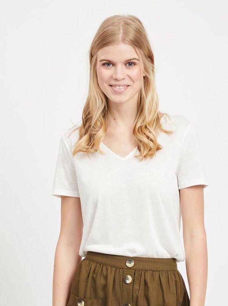 Biele tričko VILA Noel