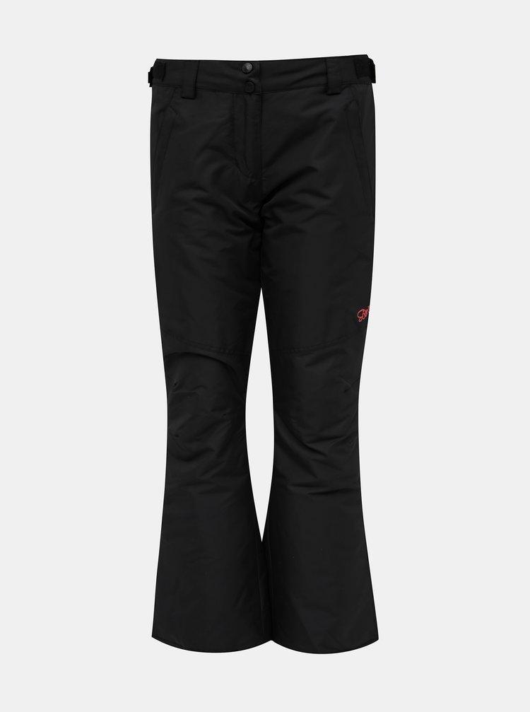 Černé dámské zateplené nepromokavé kalhoty SAM 73
