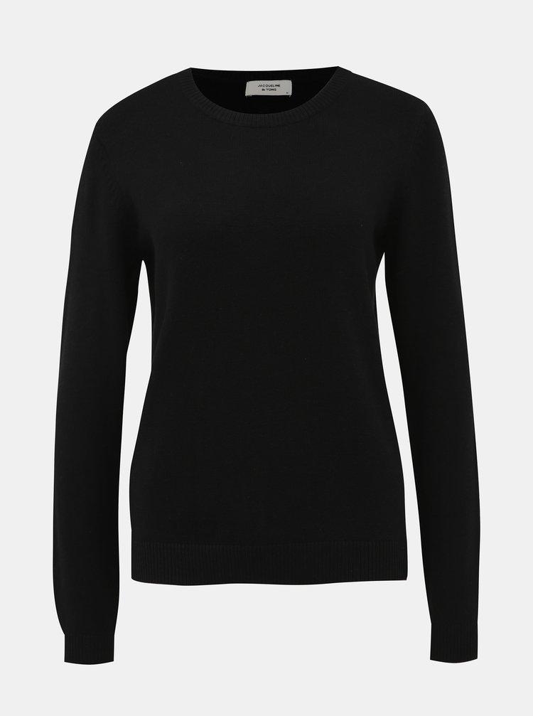 Černý basic svetr Jacqueline de Yong Marco